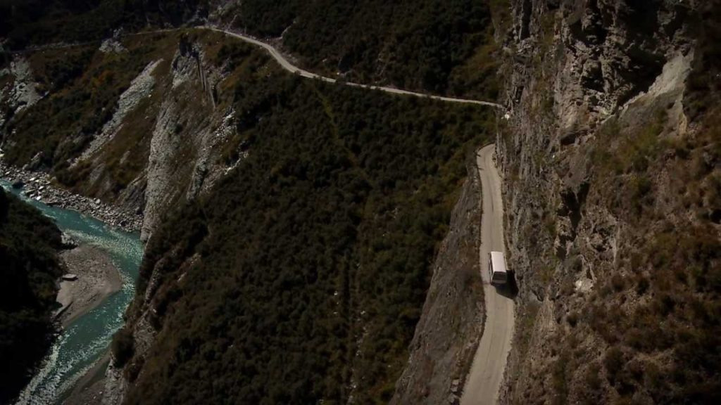 Skippers Canyon Road, Новая Зеландия