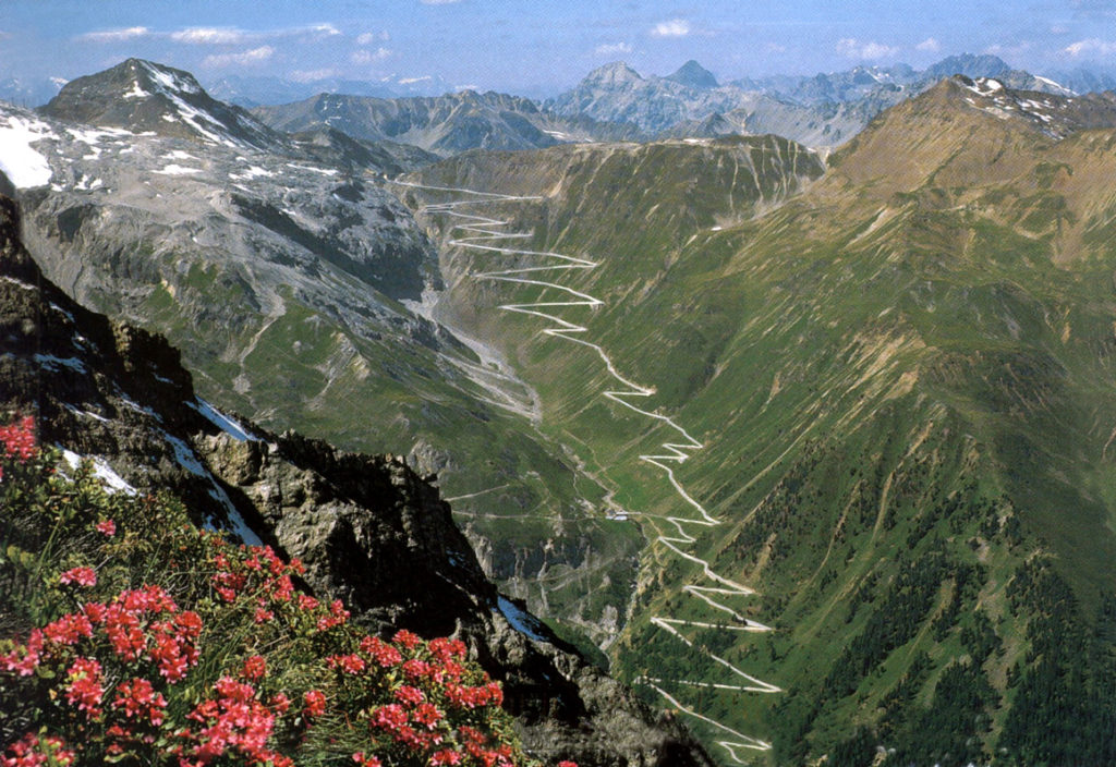 Stelvio Pass Road, Италия