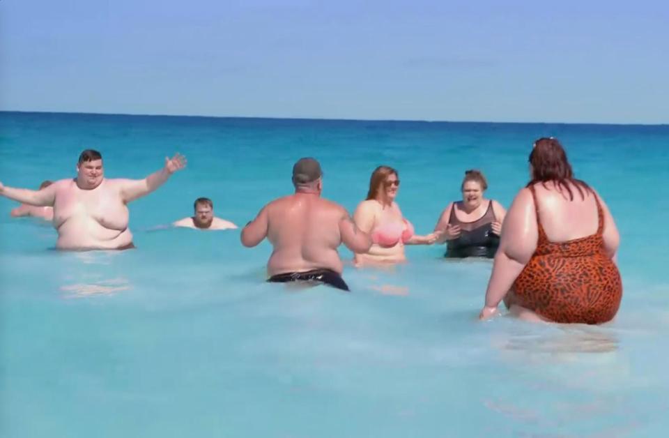 Австралия пляж ожирение