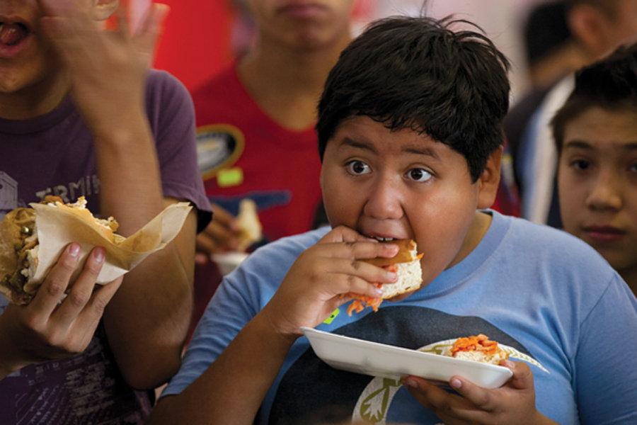 Мексика ожирение