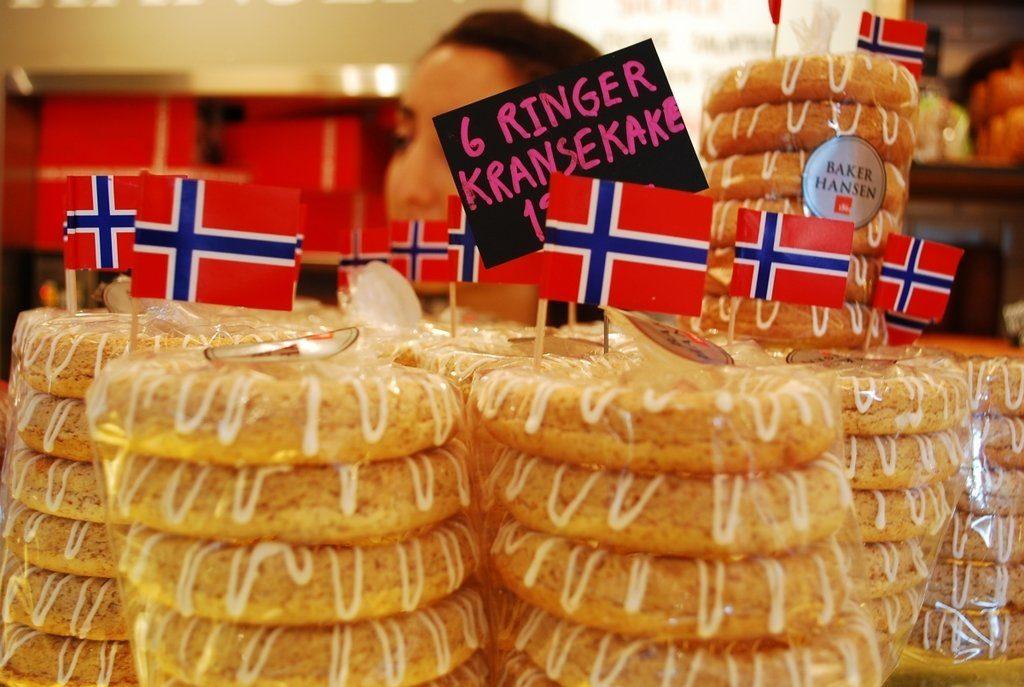 Норвегия еда