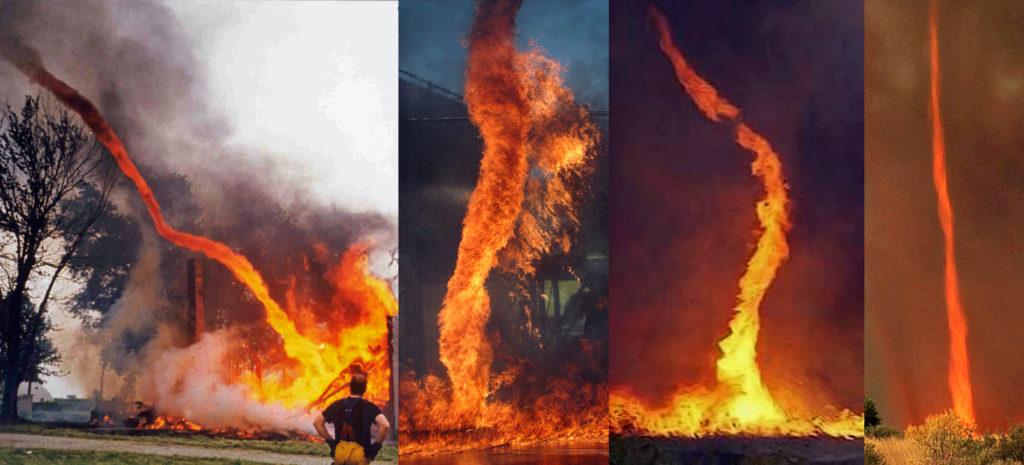 Огонь Whirl