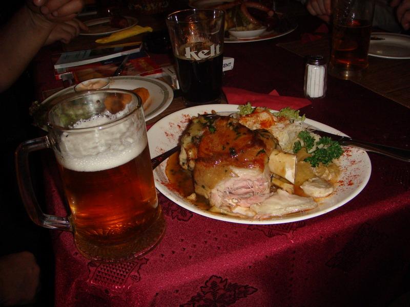 Чешская Республика еда