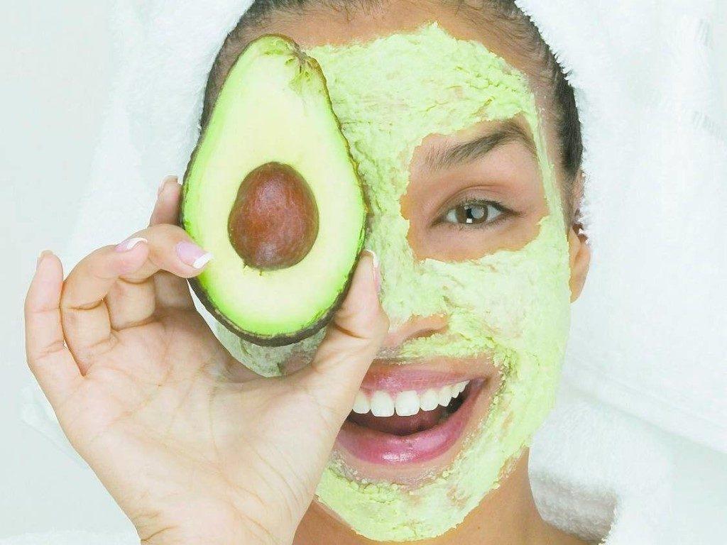 маска из овощей