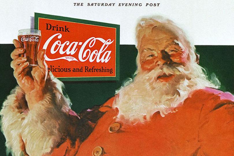 Coca Cola и Санта