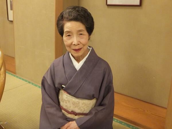 93 летняя гейша