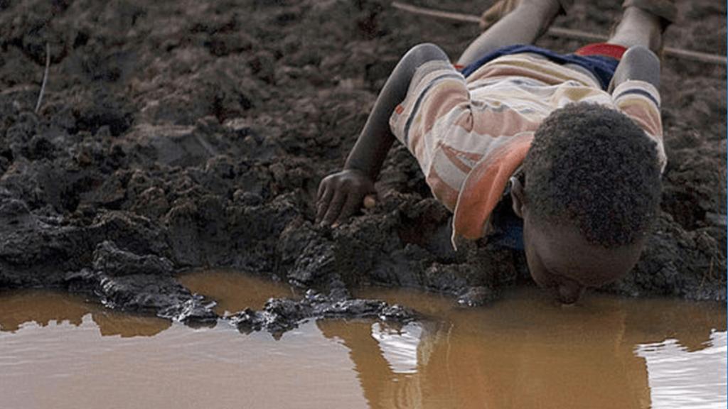 в Эфиопии дети