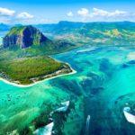 Подводные водопады, остров Маврикий