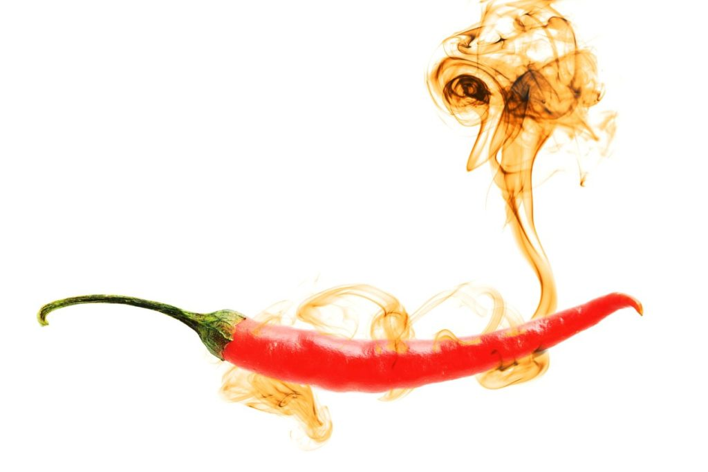 pepper burning rating