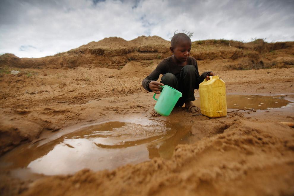 Ребенок в Африке