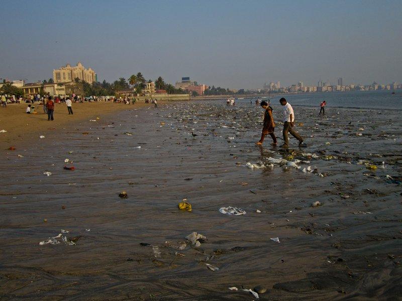 Chowpatty Beach, Мумбаи