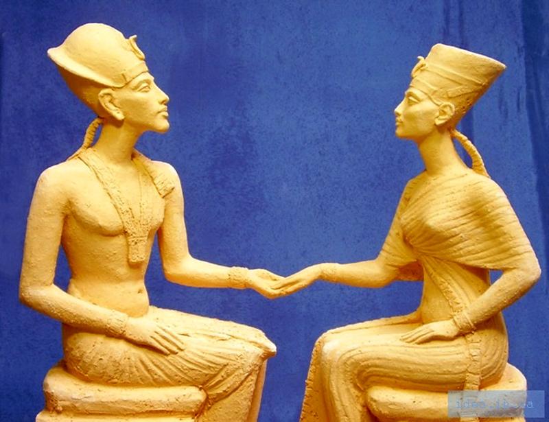 Нефертити И Эхнатон