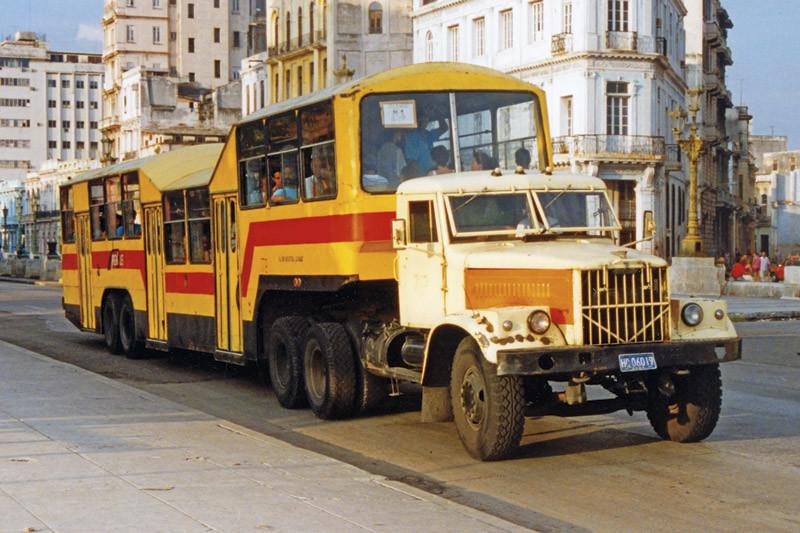 Автобус-грузовик