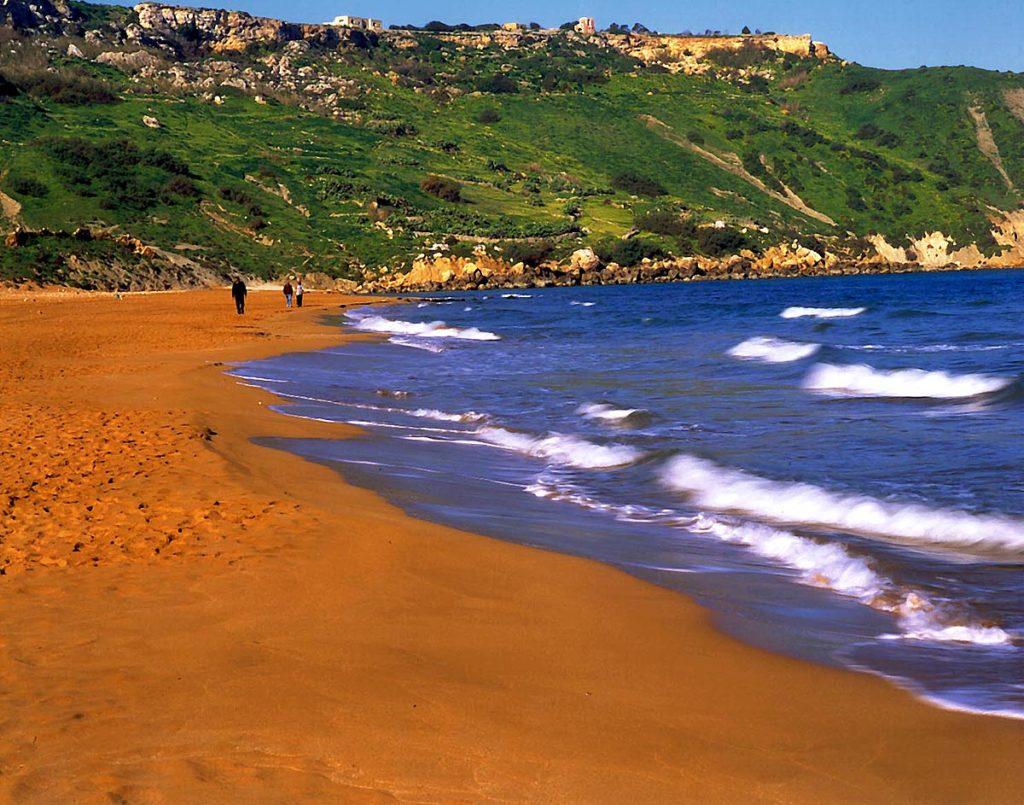 Оранжевый пляж