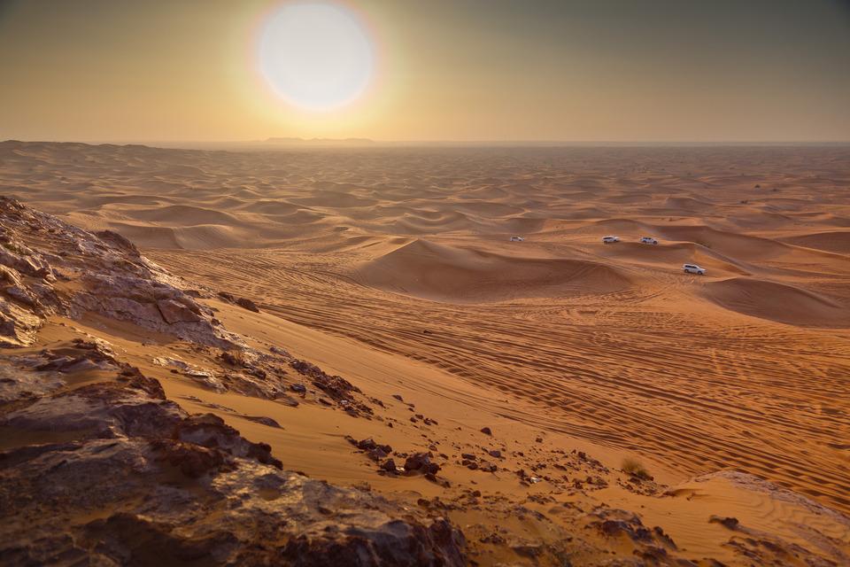 Аравийская пустыня в Африке (Египет)