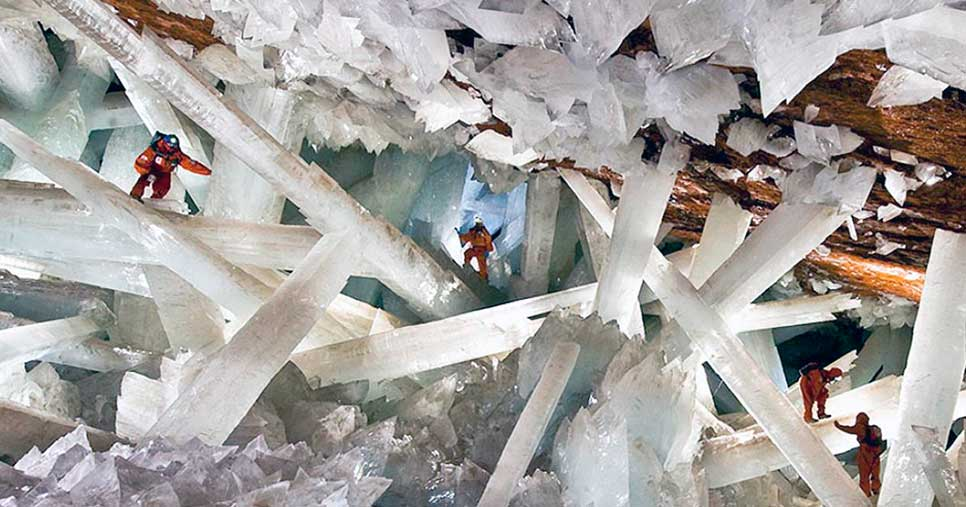 Гигантская хрустальная пещера, шахта Наика