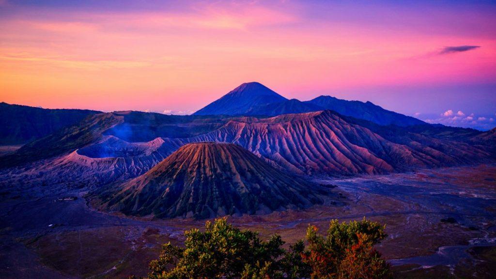 Гора Бромо, Индонезия