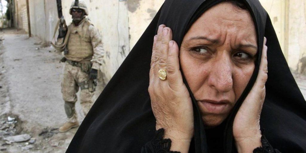 Женщина в Ираке