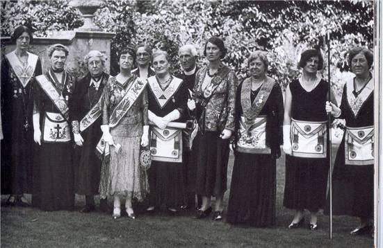 Женщины масоны