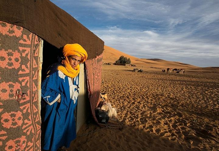 ЛЮДИ в Сахаре
