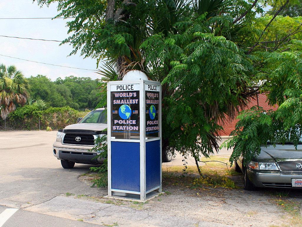 Самый маленький полицейский участок