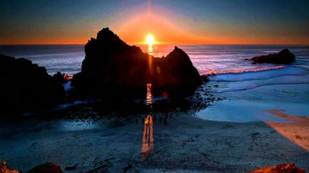 PFEIFFER BEACH, Калифорния