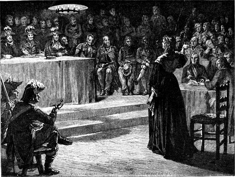 Революционный Трибунал Обвинил Ее В Инцесте