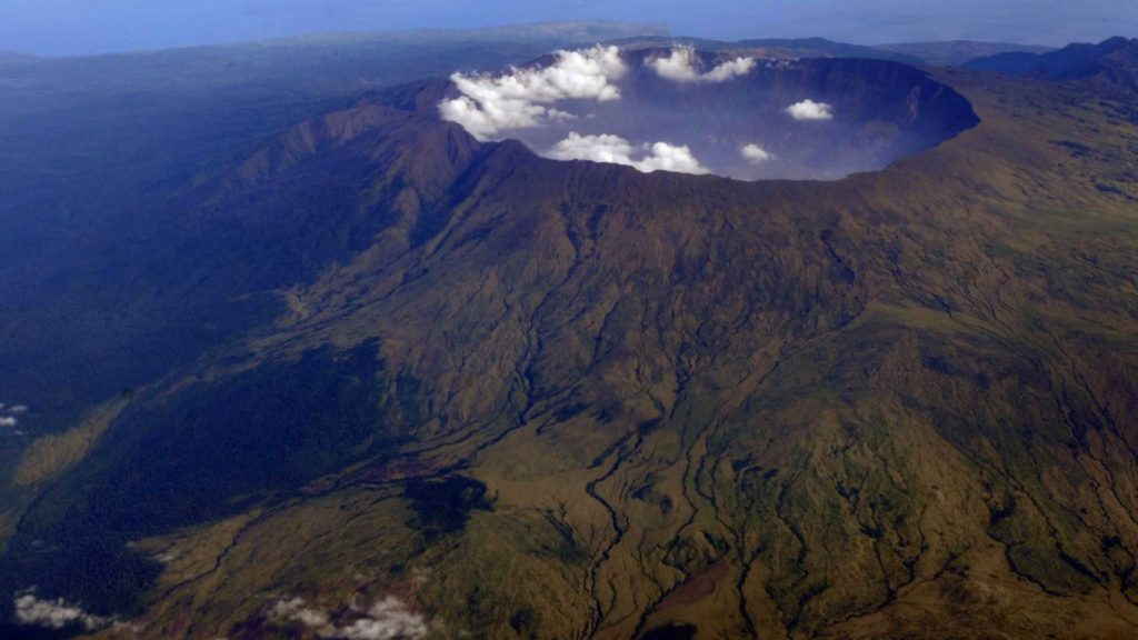 Гора Тамбора, Индонезия