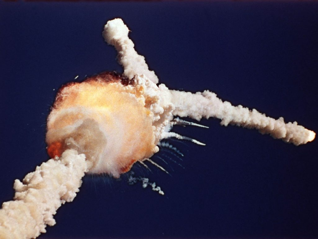 Космический шаттл Challenger (1986)