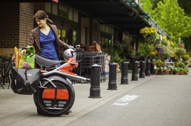 Одноколёсный электроцикл Ryno Micro-cycle