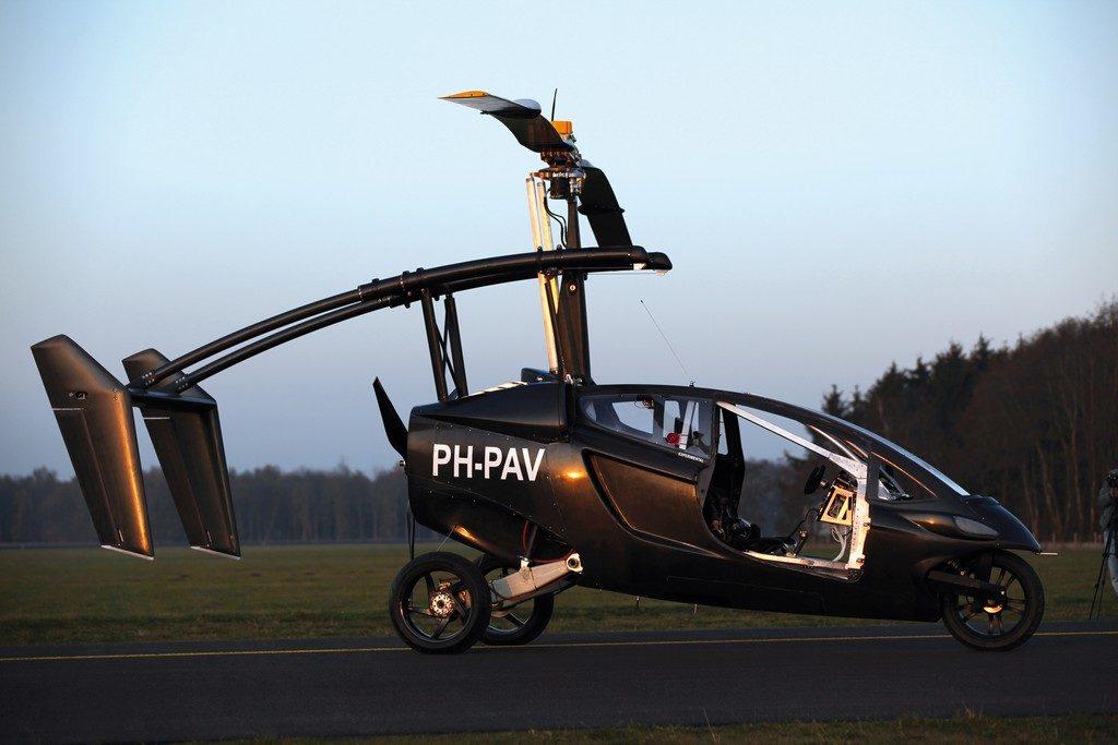 Персональный летательный транспорт PAV
