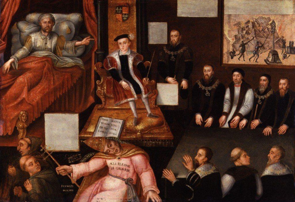 Мария казнила 300 человек, а Эдуард VI убил более 5000