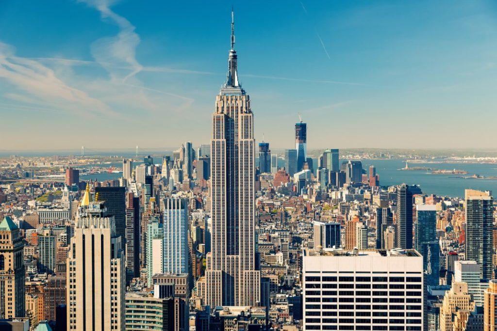Эмпайр Стейт билдинг, Нью-Йорк, США