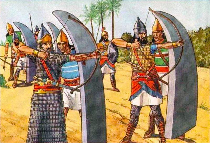 Для народа Ассирийской империи мальчикам требовалось 15 лет упорной тренировки