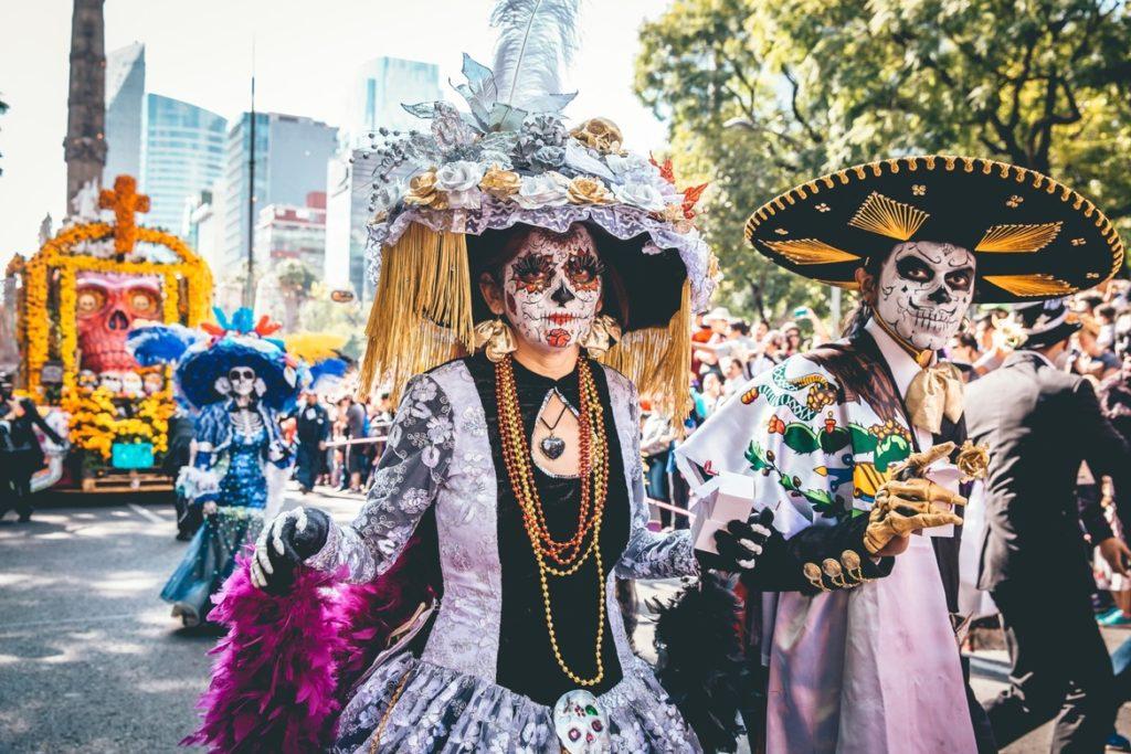 День мертвых Мексика