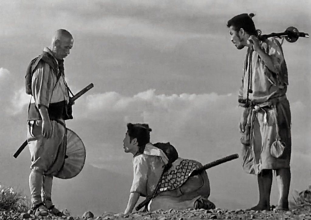 Молодой самурай должен был пройти серию испытаний