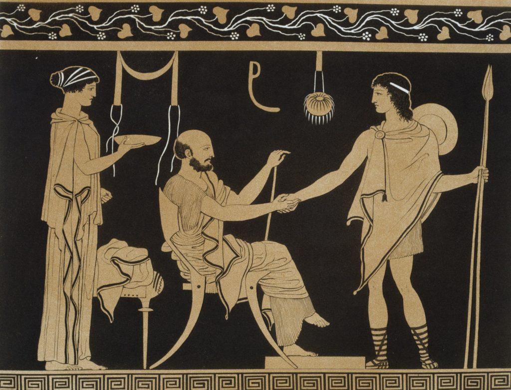 Мужчины-наставники в Древней Греции