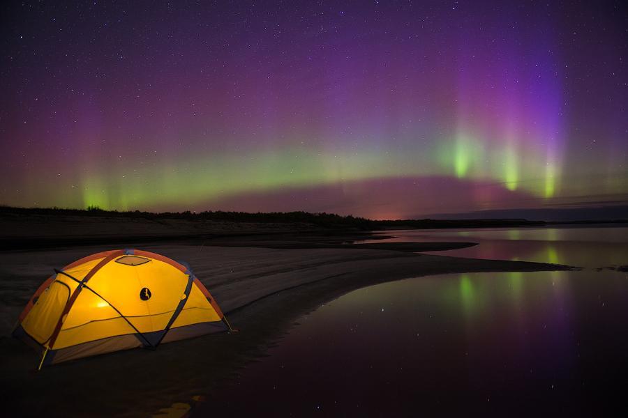 Озеро Миватн, Исландия