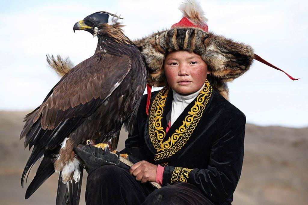 Охотиться с орлами, Монголия