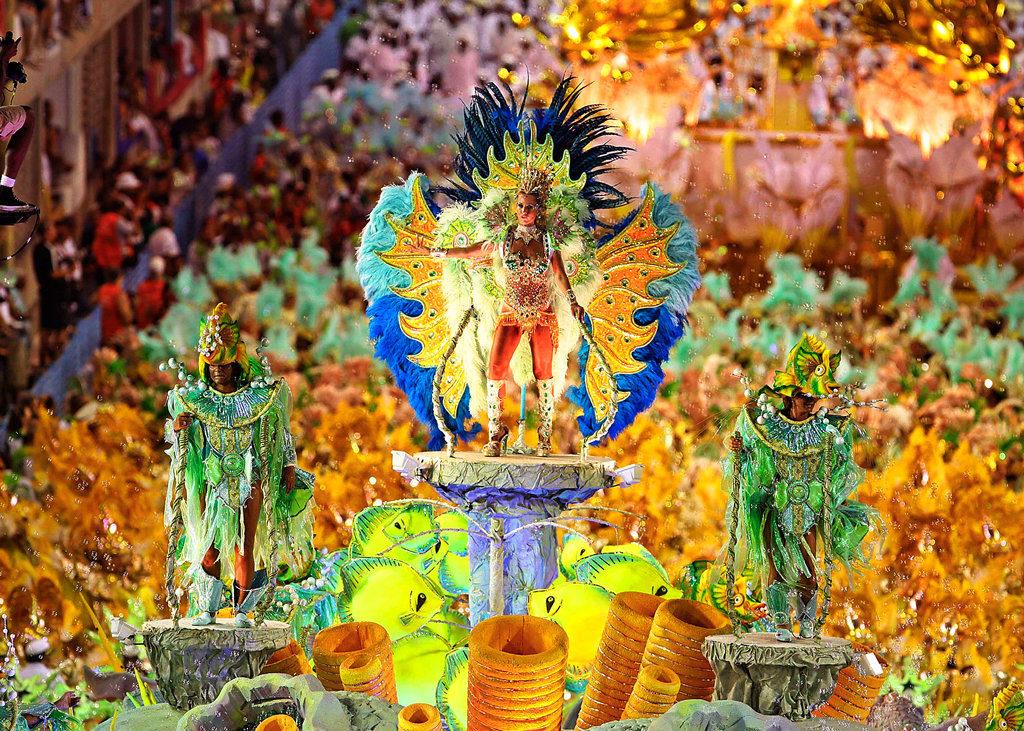 Рио-де-Жанейро, карнавал, Бразилия