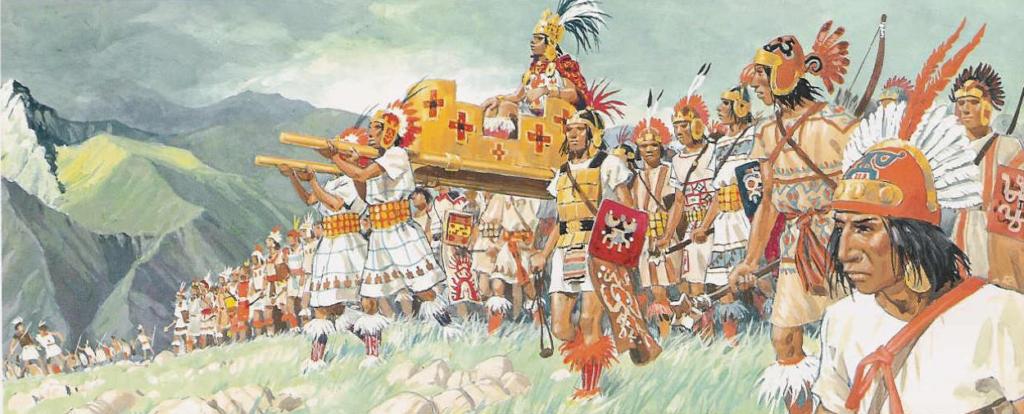 Самая большая и могущественная империя в Мезоамерике