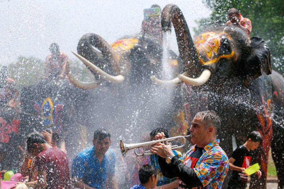 Фестиваль Воды Сонгкран, Таиланд