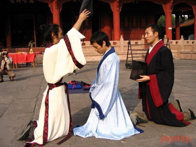 Церемония Гуань Ли Древнего Китая