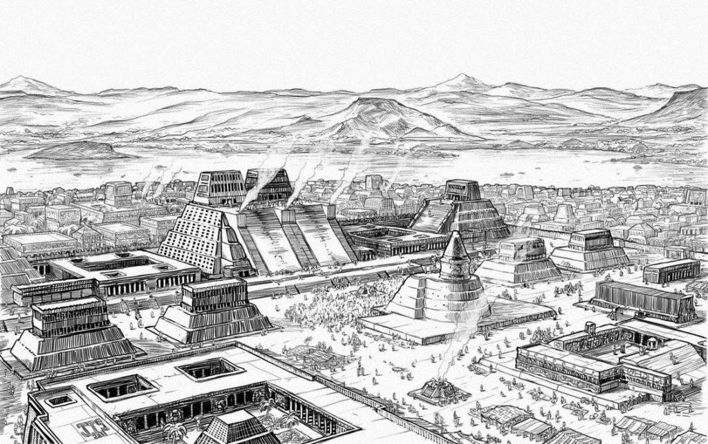 Город Теночтитлан