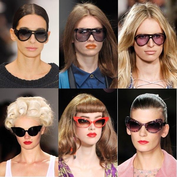 должны ли брови виднеться при ношении солнцезащитных очков