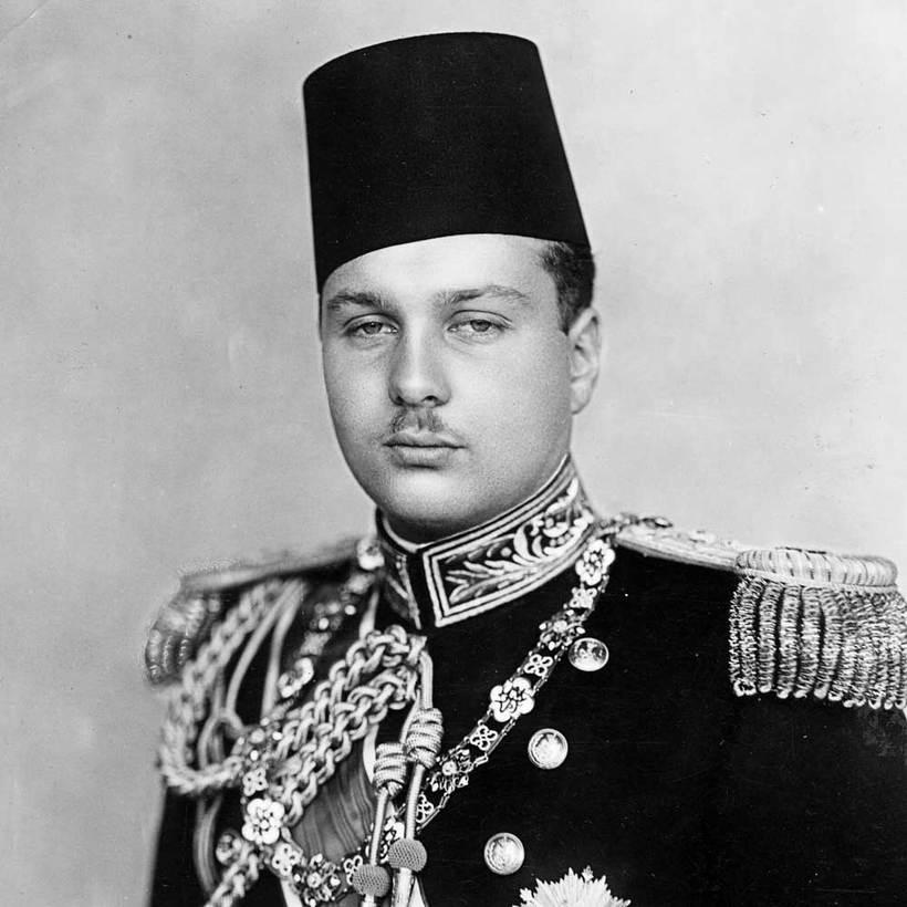 египетский король Фарук (1920-1965)