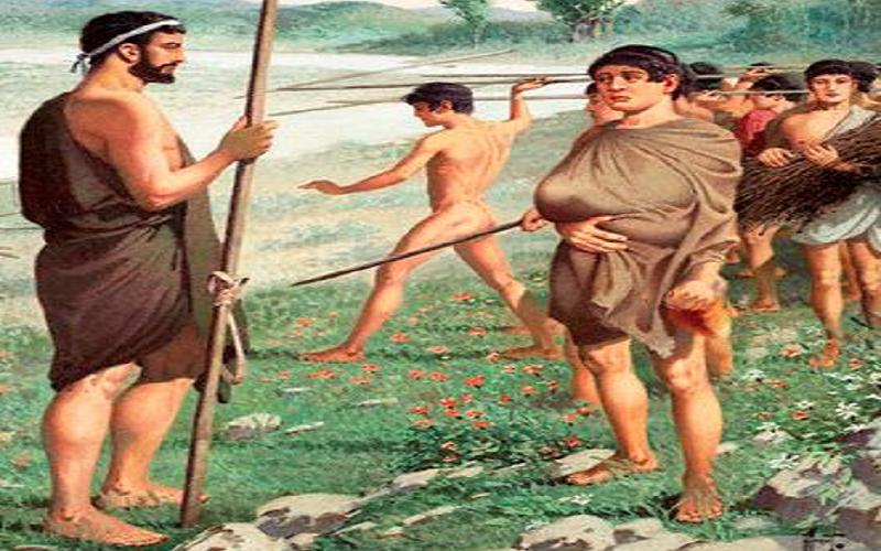 Мальчиков Спарты обучали убивать