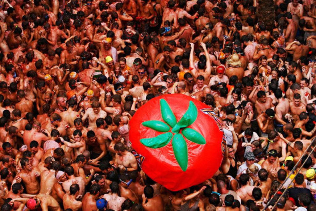 La Tomatina, Испания