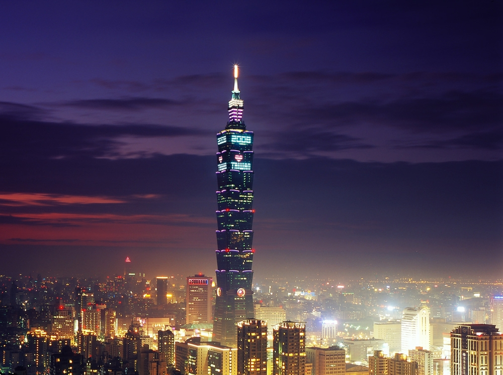 Taipei 101, Тайвань