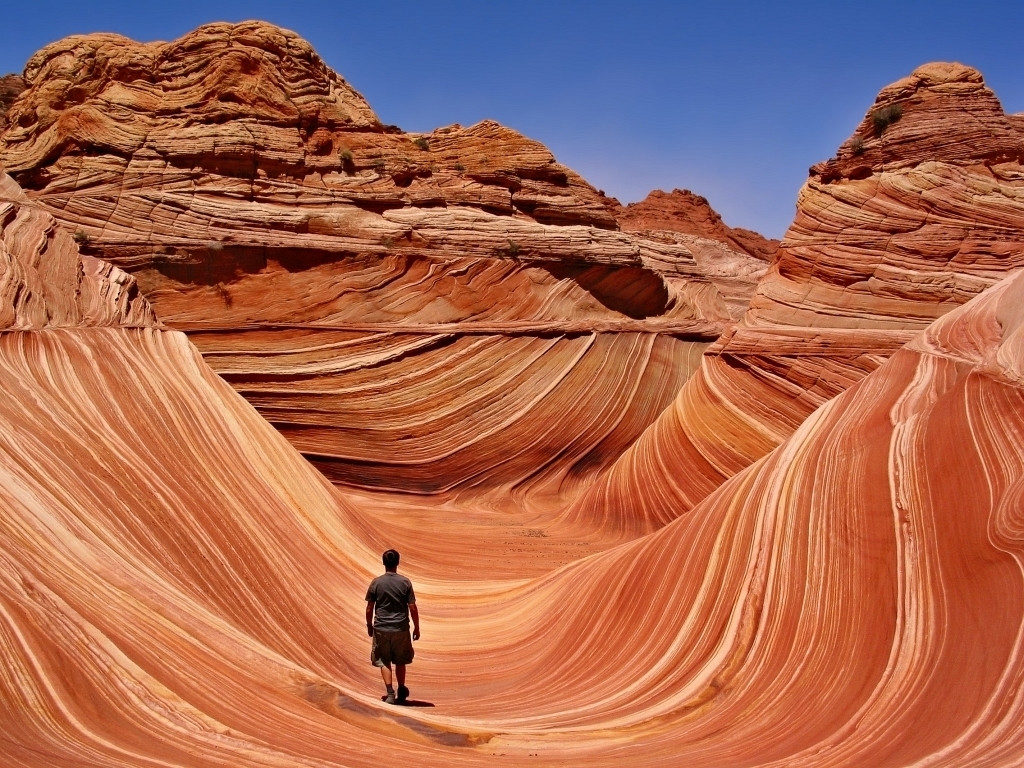 Застывшая волна Аризоны, США